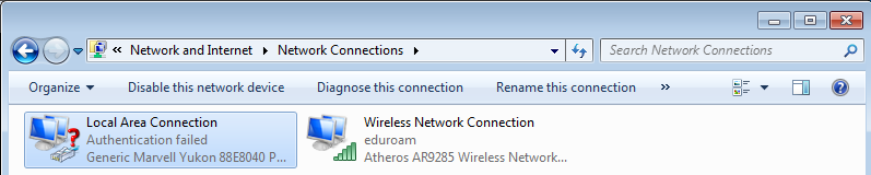 wired eduroam setup